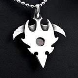 Flight of the Phoenix Pendant Necklace [Solid Stainless Steel]