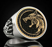 Wolf of the Wild Premium Ring