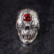 Cyclops Skull Ring [Handmade]