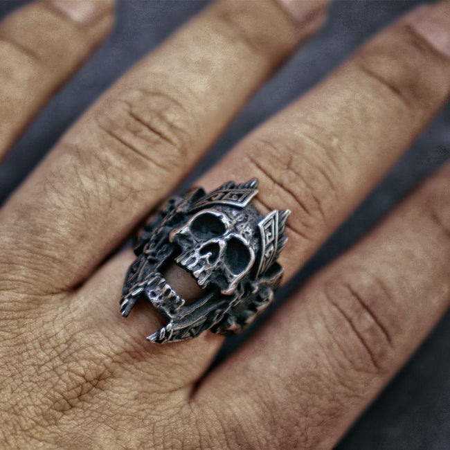 King of Death's Doorstep Ring [Stainless Steel]