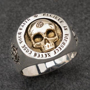 Skull of Faith Ring [Stainless Steel]
