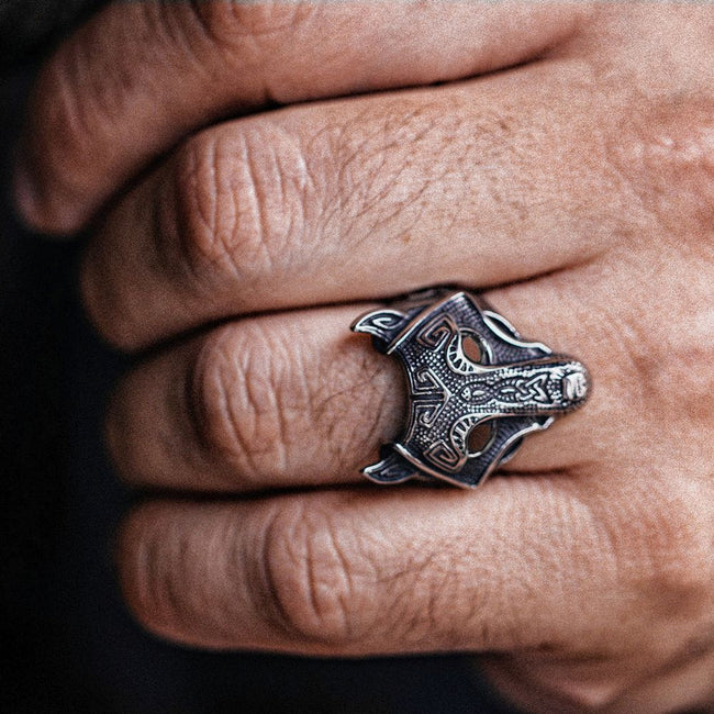 Fenrir Ring [Solid Stainless Steel]
