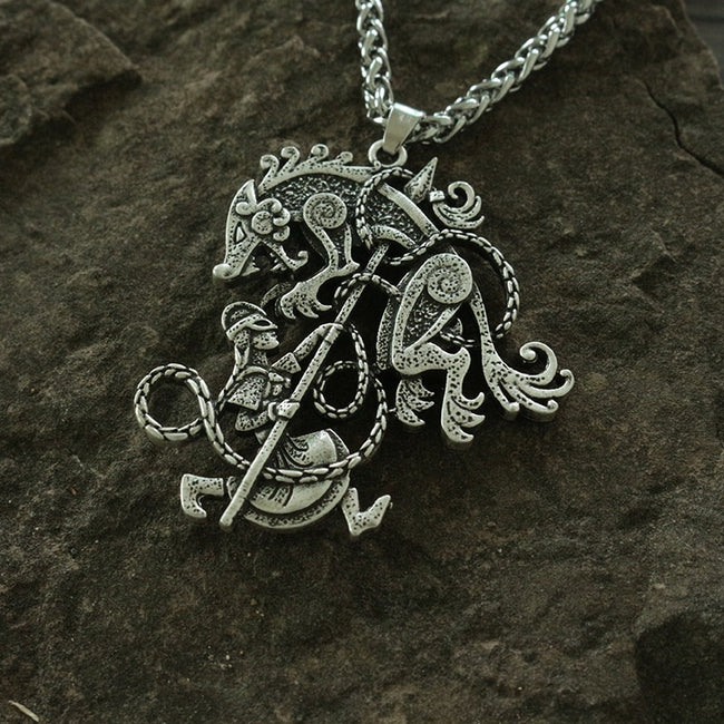 The Beast Vanquished Necklace