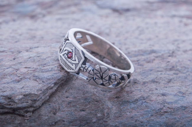 Templarpunk Ring [Sterling Silver] [Handcrafted]