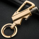 Luxury Trench Lighter Keychain