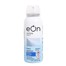 Load image into Gallery viewer, eOn Continuous Spray Hand Sanitizer 80% Ethyl Alcohol - TSA Approved Can