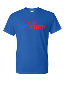 Big Brother Youth and Toddler shirt - Buggy Boos Embroidery
