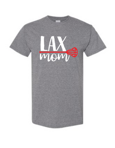 LAX lacrosse mom shirt - Buggy Boos Embroidery