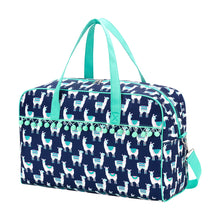 Load image into Gallery viewer, LLama weekender duffle bag - Buggy Boos Embroidery