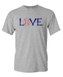 SALE!!  LOVE baseball graphic t shirt mom baseball boys graphic t womens graphic T - Buggy Boos Embroidery