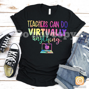 Teachers can do virtually everything - Buggy Boos Embroidery