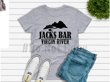 Load image into Gallery viewer, Jacks Bar Grey Hoodie - Buggy Boos Embroidery