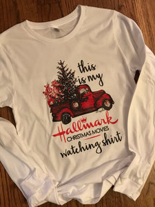 Movie watching shirt - Buggy Boos Embroidery