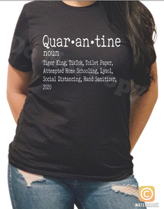 Quarantine shirt - Buggy Boos Embroidery