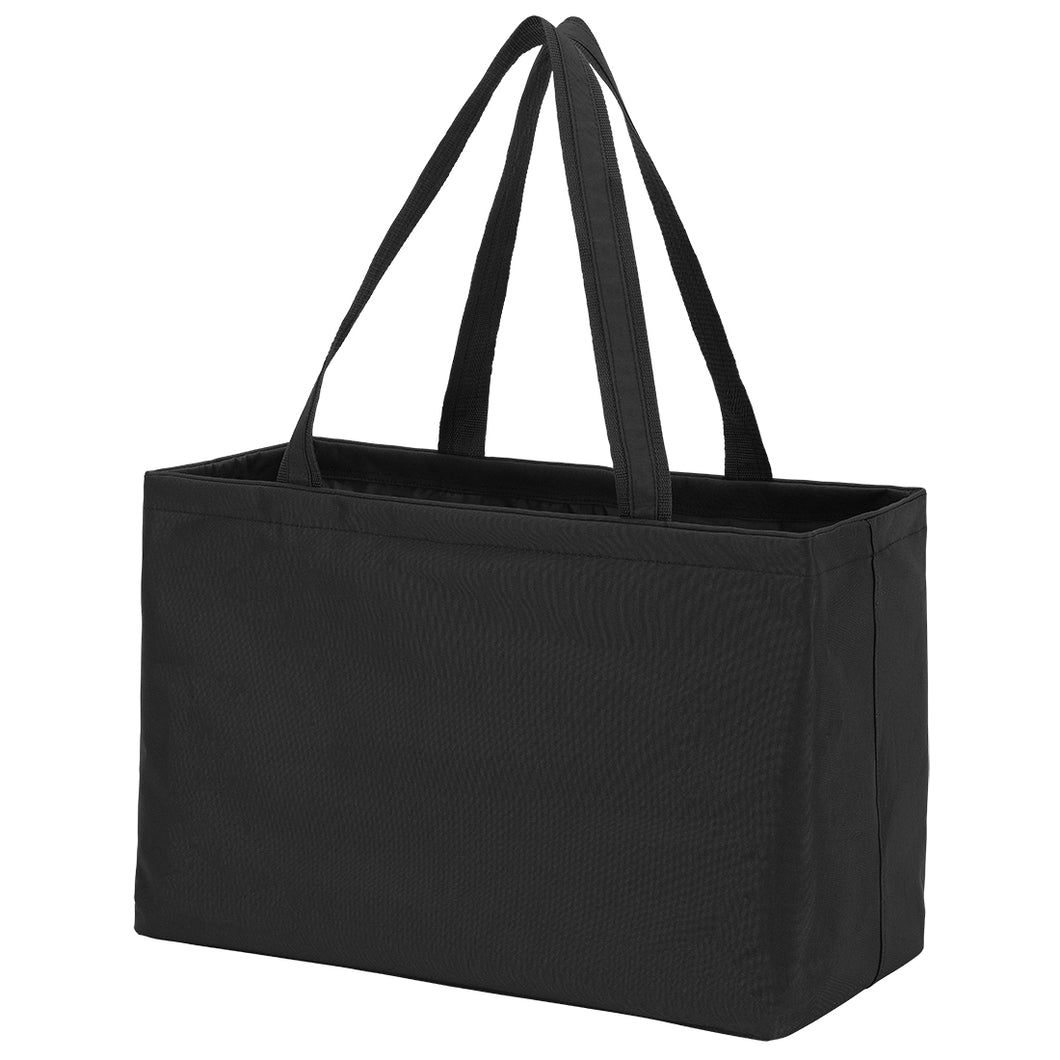 Ultimate tote-Solid black - Buggy Boos Embroidery