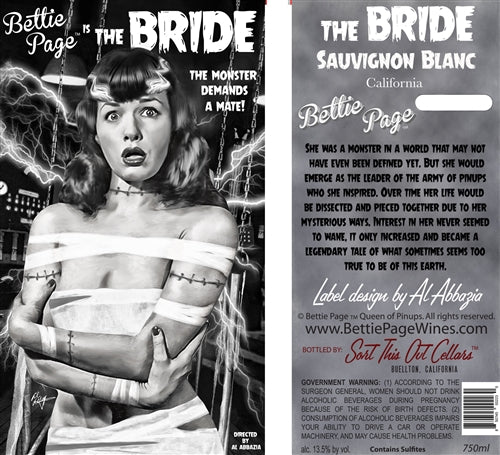 "Bettie Page ""Bride"" Sauvignon Blanc"
