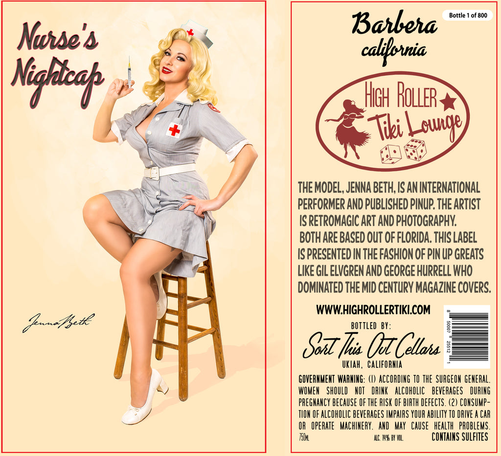 Nurse's Nightcap Barbera