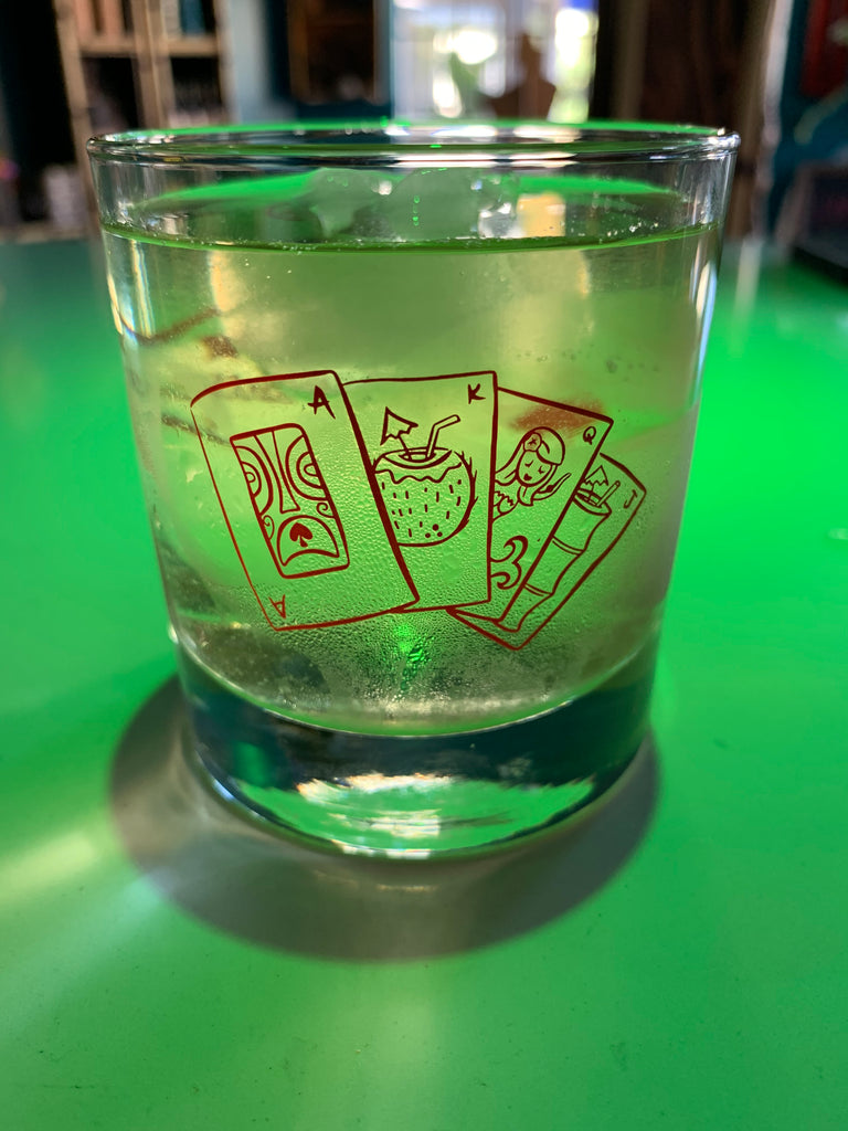 Logo Rocks Glass