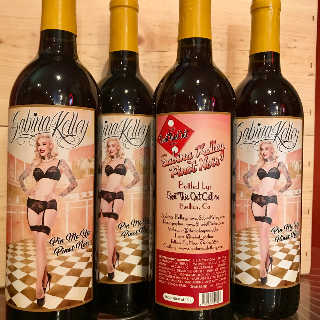 Sabina Kelley Pin Up Pinot Noir