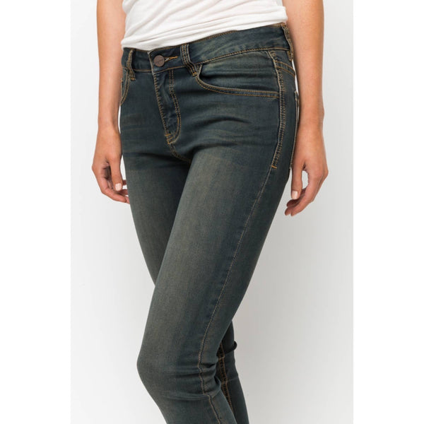 Whiskey Wash Stretch Jean