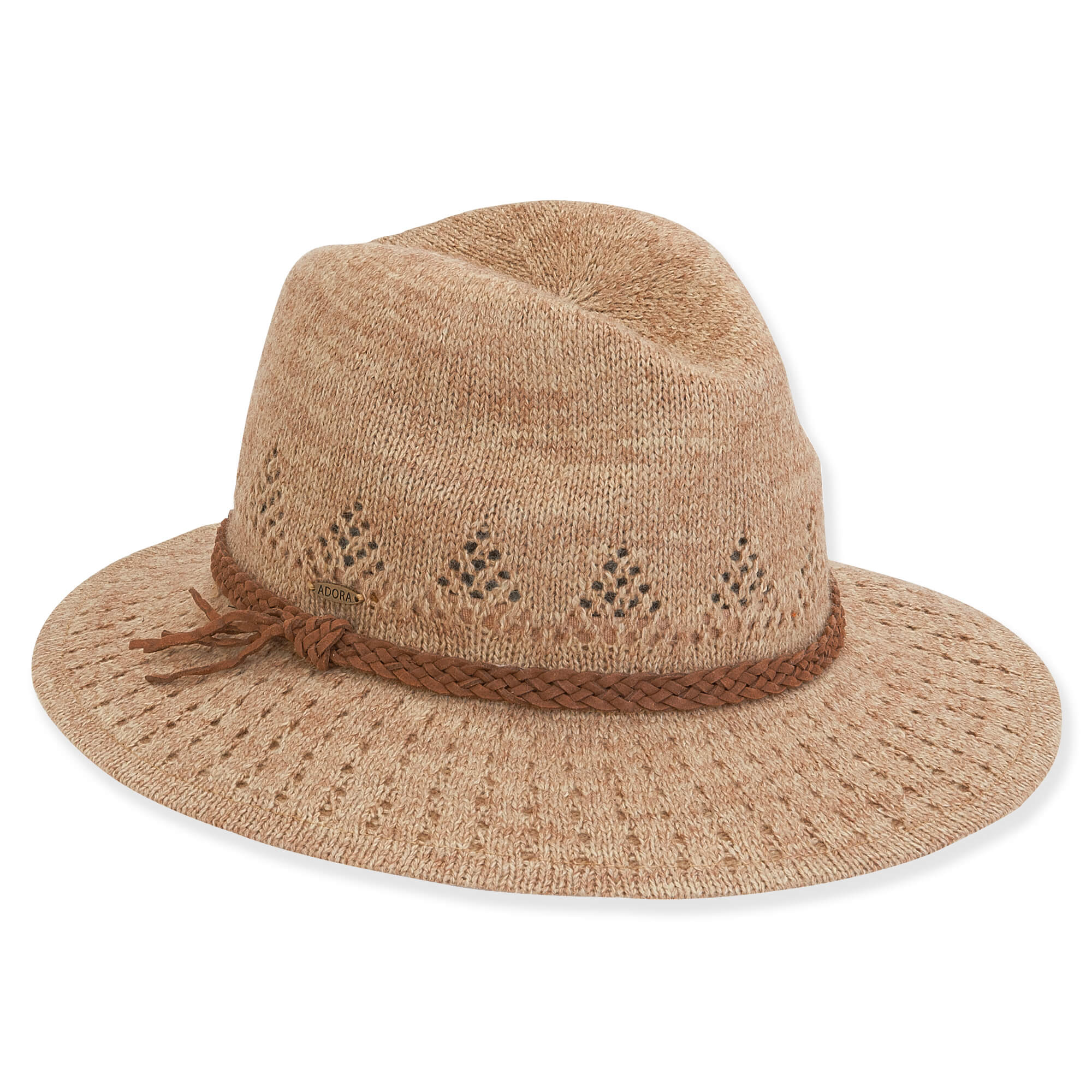 Sweater Knit Fedora