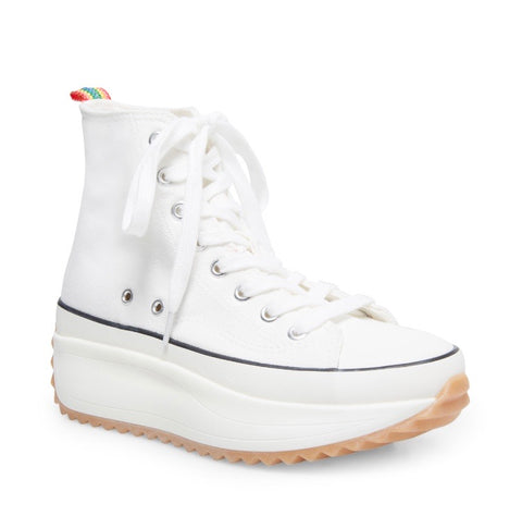 Hi-Top Wedge Sneaker