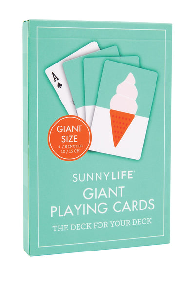 Giant Waterproof Playing Cards