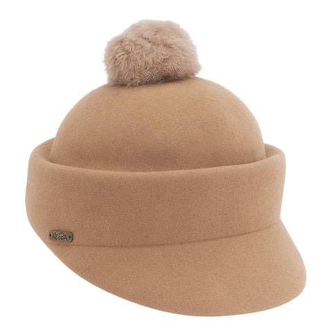 Camel English Riding Hat