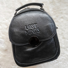 Load image into Gallery viewer, Lost Minds Mini Convertible Handbag/Backpack - Black