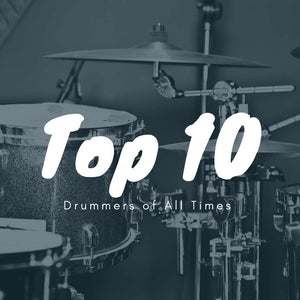 Top 10 Drummers of All Time
