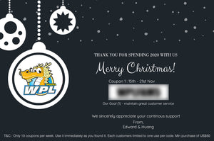 WPL Christmas Coupon Hunt! Starts Now!