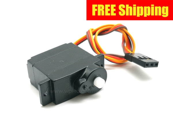 9g Servo (for Dual Speed Gearbox Servo Replacement) - WPL RC Official Store
