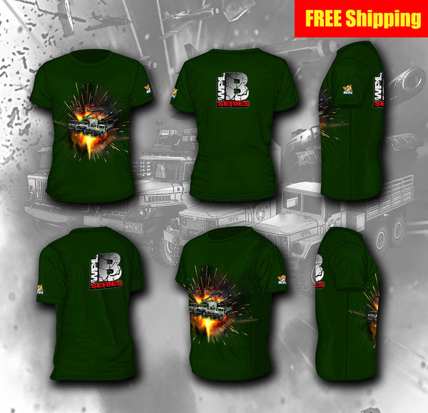 B Series T-Shirt - WPL RC Official Store