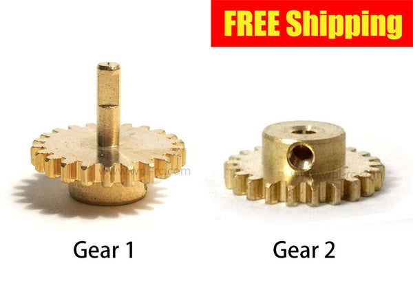 Brass Gear for Single Speed Gearbox - WPL RC Official Store