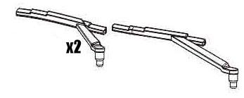 C14 C24 Wiper (pair of 2) - WPL RC Official Store