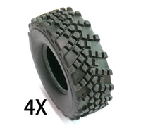 Tires V2 - 4 pieces - WPL RC Official Store