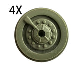 Wheel V2 (B36) - 4 pieces - WPL RC Official Store
