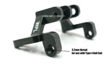 Metal Axle Truss (Aluminum) - 2 pieces - WPL RC Official Store