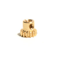Center Axle Pinion Gear (Brass) - 4pcs - WPL RC Official Store