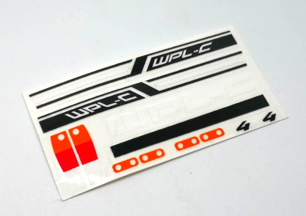 C14 C24 Sticker - WPL RC Official Store
