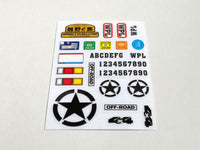 Sticker C34 Adventure - WPL RC Official Store