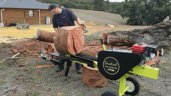 What is a Kinetic Log Splitter? How does this log splitter work?