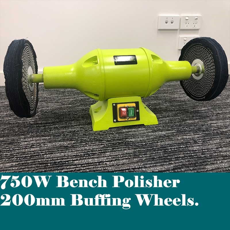 200mm Bench Polisher Bench Buffer 750W | Bench Polisher Forestwest