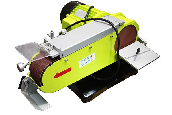 Industrial Belt & Disc Sander Double Speed 2100/2500W | Bench Grinders & Linishers Forestwest