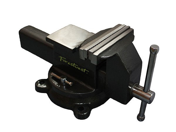 "4"" Bench Vice with Swivel Base and Anvil - Forestwest"