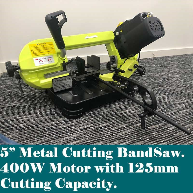"5"" Metal Band Saw Adjustable Speed - Forestwest"