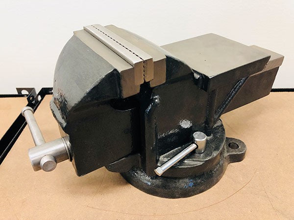 "4"" Bench Vice with Swivel Base & Anvil 