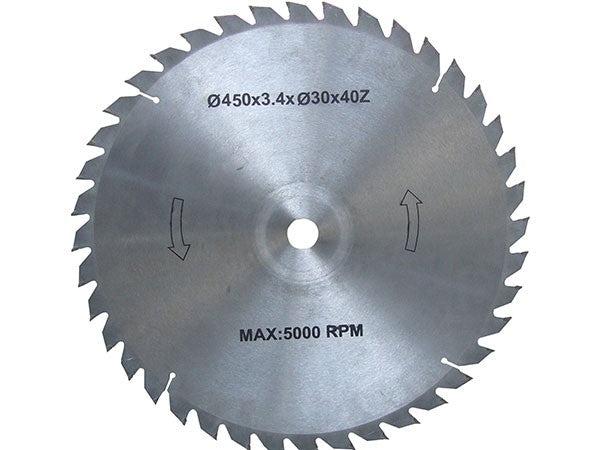 450mm Circular Saw Blade 40 Teeth TCT BM11091B | Firewood Saw Blade Forestwest