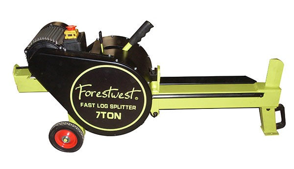7ton Kinetic Log Splitter 1500W Electric | Kinetic Log Splitter Forestwest