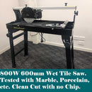 800W 600mm Wet Tile Saw - Forestwest